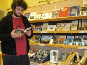 chris in gift shop