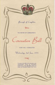 Coronation Ball Invite
