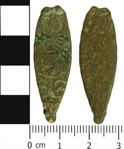 Viking Strap End