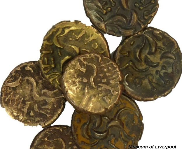 Cheshire Hoard Coins dating back to the Iron Age