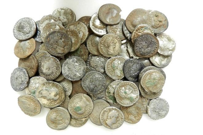 Cheshire Hoard coins up to 2000 years old  vvv