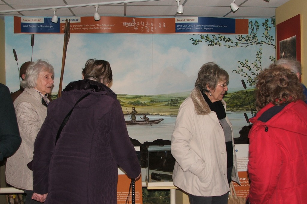 15th February Timbersbrook Women's Institute on an evening visit to Congleton Museum 2