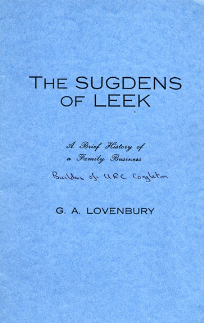 The Sugdens of Leek