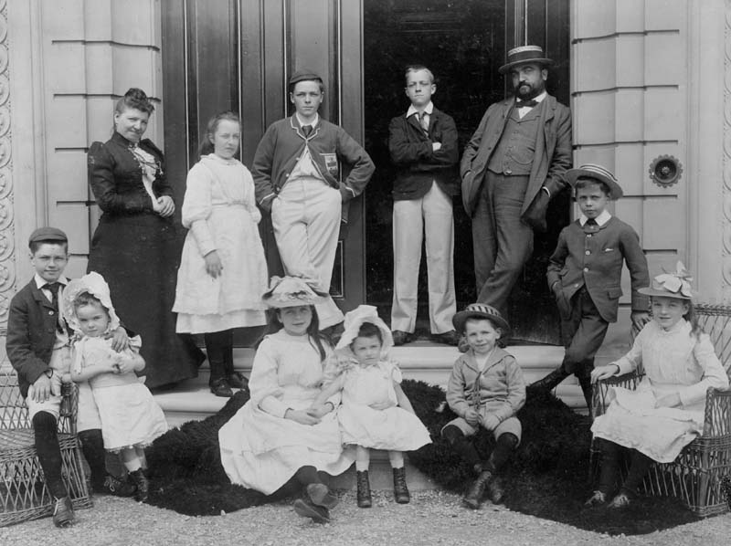 alfred meakin and his family