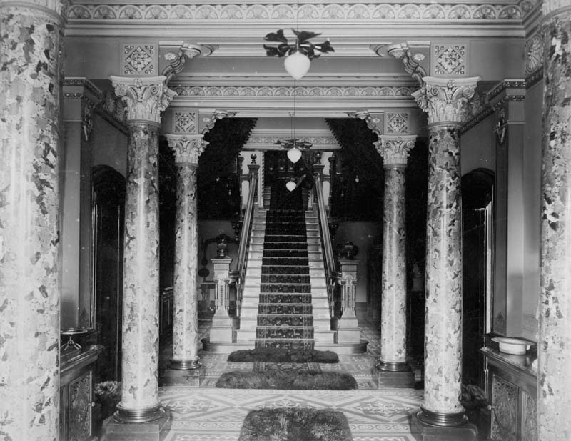 hall staircase