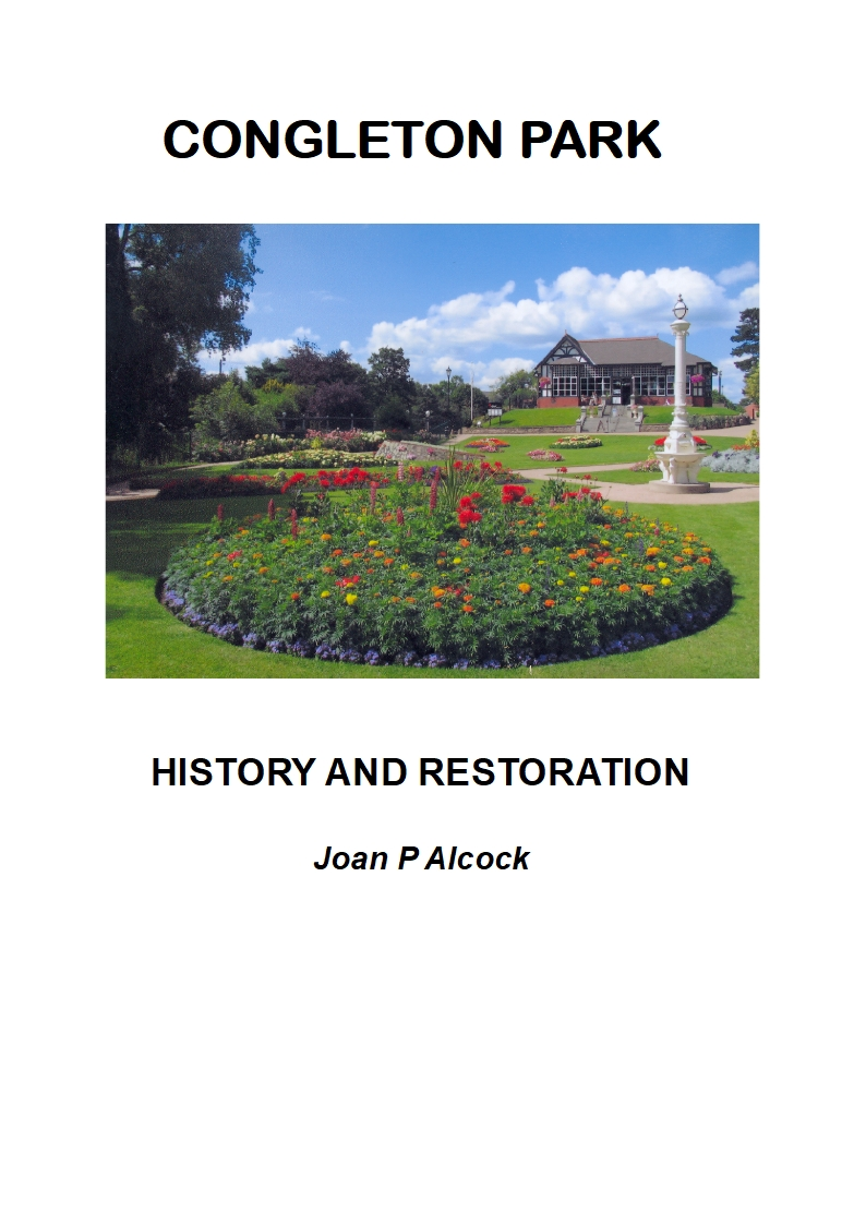 New Booklet! Congleton Park - History and Restoration