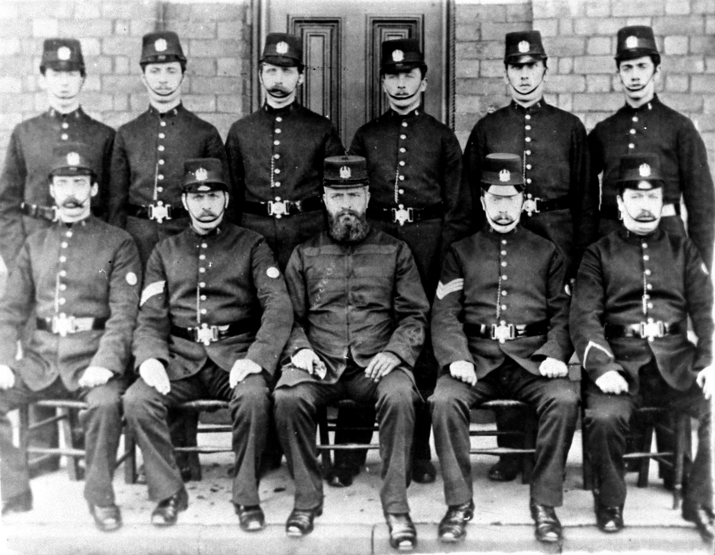 Congleton Police Outside the Police Station