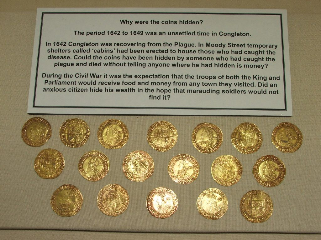 Moody Street gold coin hoard